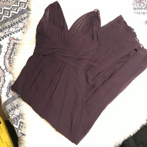 Bill Levkoff purple evening gown, size 8